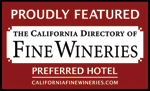 Proudly Featured - The california directory of fine wineries Logo/badge